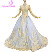 a63c0ad5ee730 High Quality Evening Dress Long Gold Promotion-Shop for High Quality ...