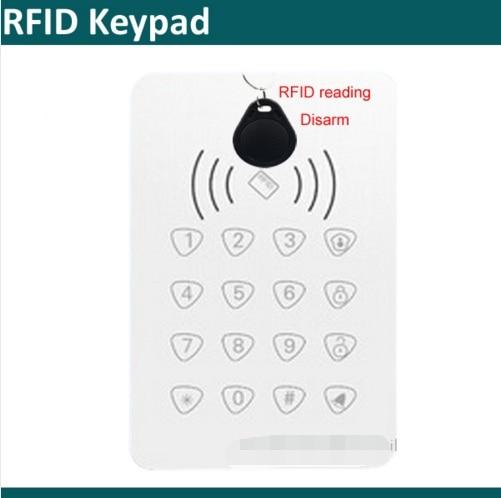 433Mhz Wireless Smart RFID Keypad For G90B Plus Wifi GSM Alarm System To Arm/disarm Alarm System