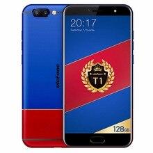 "Ulefone T1 6 GB RAM 128 GB ROM Double Caméra Arrière Android 7.0 Smartphone 5.5 ""FHD Helio P25 Octa Core 2.6 GHz 16MP 4G Téléphone Portable OTG"
