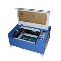 50 Вт Desktop co2 лазерный гравер 3040 для дерева, кожа, акрил и т. д. Устройство для лазерной резки