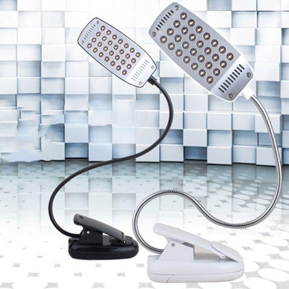E-SMARTER 28 светодиодный USB Mini свет гибкий компьютер лампы портативных ПК рабочий стол Чтение USB светодиодный Регулируемая лампа яркий USB чтения ...