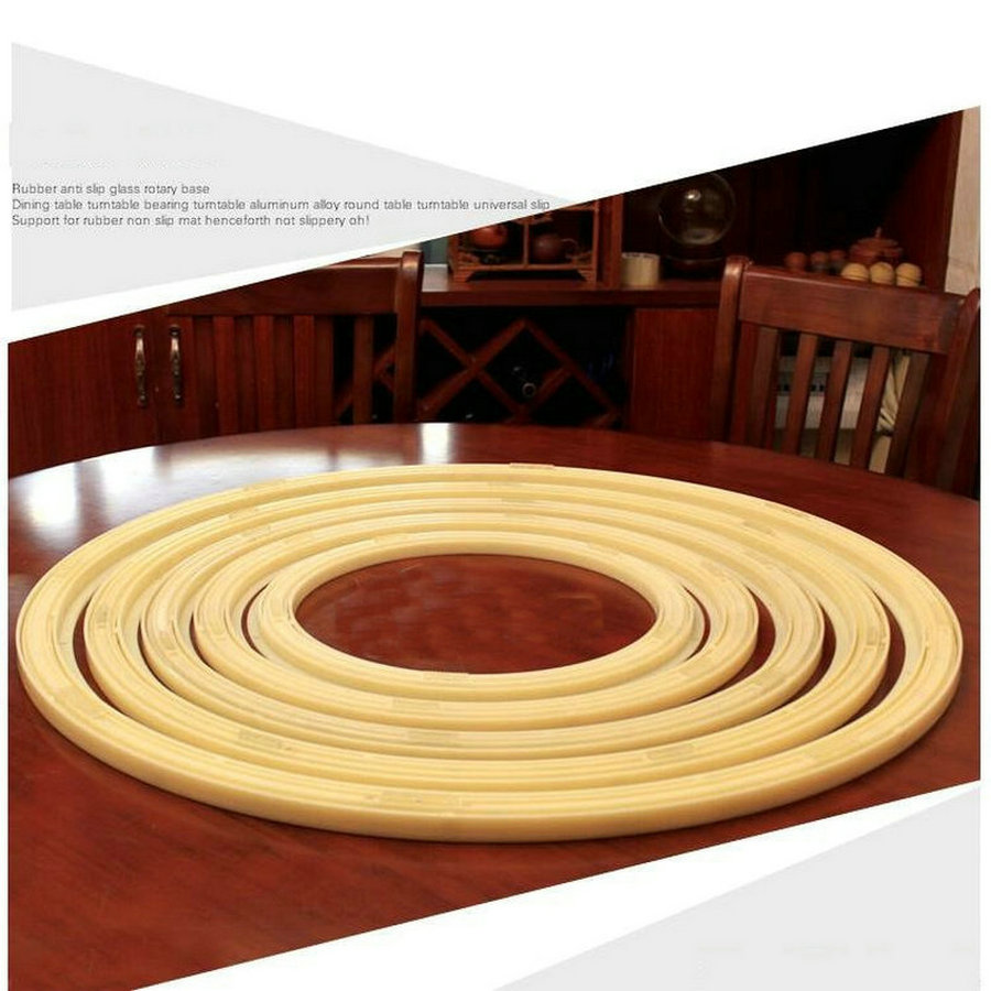 24IN/60CM Anti Slip Universal Rotating Turn Table Larizonay Lazy Susan for Round Dining Table