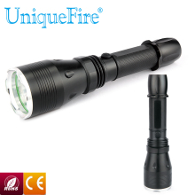 UniqueFire UF-V24 Hot Selling Flashlight 3W Middle Button 240LM Led Torch 3 Mode CREE Aluminium Alloy Multipurpose Lamp