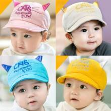 Baby Summer Hat Letter Cute Kids Girls Boys Caps Toddler Fashion Hats Newborn Spring Baseball Hat Children Sun Cap(China)