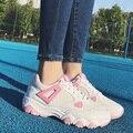 2017 fashion sport shoes brand casual shoes platform women shoes breathable woman trainers ladies footwear chaussure femme