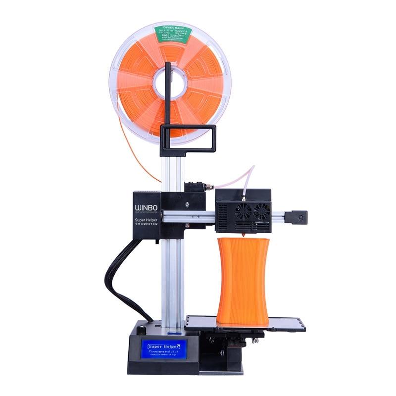 Portable Laser level mini 3D printer FDM mini printer Laser Cutting 3D 3d printer FDM Desktop DIY kit coloful filamento 3D