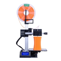 Portable Laser level mini 3D printer FDM mini printer Laser Cutting 3D 3d printer FDM Desktop DIY kit coloful filamento 3D