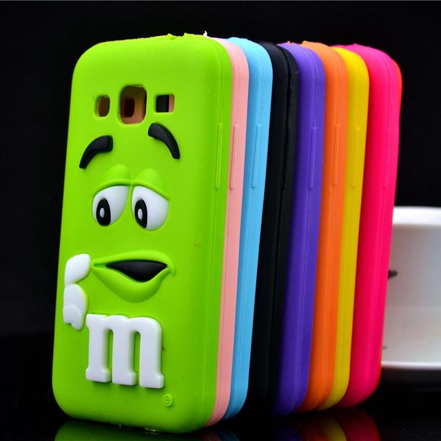 Bien-aimé For Samsung Galaxy Core Prime G360 G3606 G3608 Case M&M'S  UV17