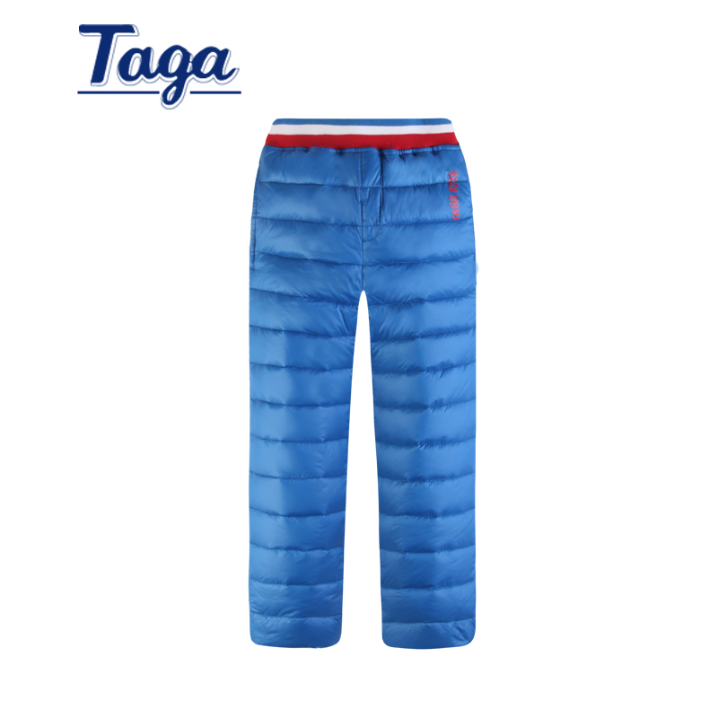 2016 new winter children's clothing kids girls down pants baby boys casual sport Trousers children cotton thicken warm Capris caranfier winter men jeans classic gray blue trousers brand clothing 2017 new fashion casual trousers male quality pants 36 38