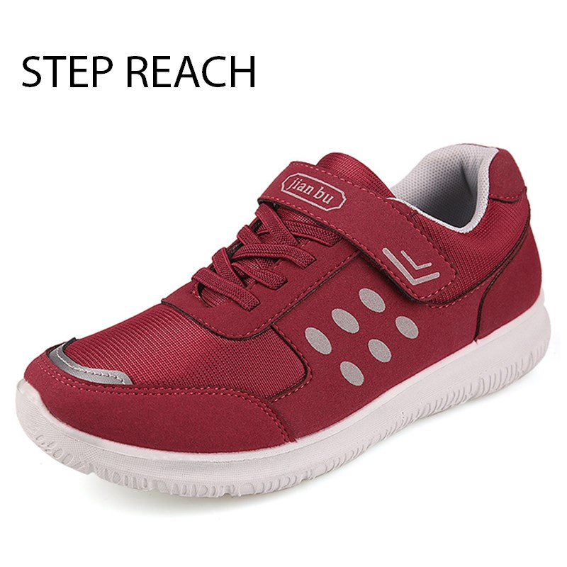 STEPREACH Brand shoes woman Flats Breathable Slip On round toe casual Comfortable Fashion Sapato Feminino tenis feminino autumn ceyue fashion brand women shoes breathable air mesh trainers 2017 spring autumn casual shoes woman walking flats tenis feminino