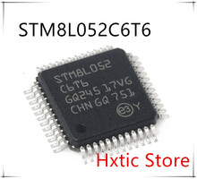 10PCS/lot New original  STM8L052C6T6 STM8L052 C6T6 QFP-48 IC