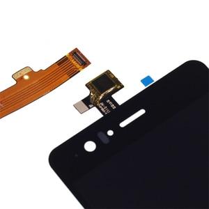 Image 2 - 100% nowy czarny/biały wyświetlacz lcd dla BQ Aquaris M5 wyświetlacz LCD + ekran dotykowy cyfrowy konwerter w celu uzyskania m5 do naprawy części