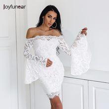 88a5983d3add Promoción de Blanco Vestido De Encaje De La Vendimia - Compra Blanco ...