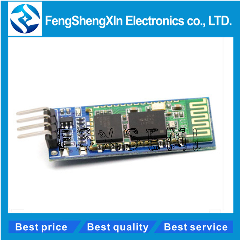 HC-06 Bluetooth Serial Pass-through Module RF Wireless Bluetooth Transceiver Slave <font><b>HC06</b></font> Bluetooth Module for <font><b>arduino</b></font> Diy image