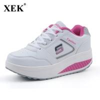 2017 Women Casual Shoes Slimming Platform Shoes Women Fashion Women Flats Fitness Lady Shoes Factory Drop
