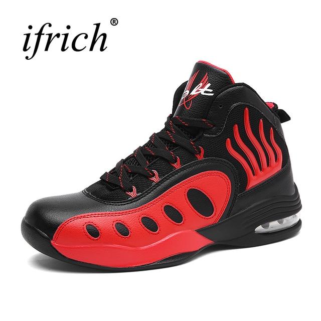 2019 Hot Sale Basketball Shoes For Men Air Cushion High Top Training
