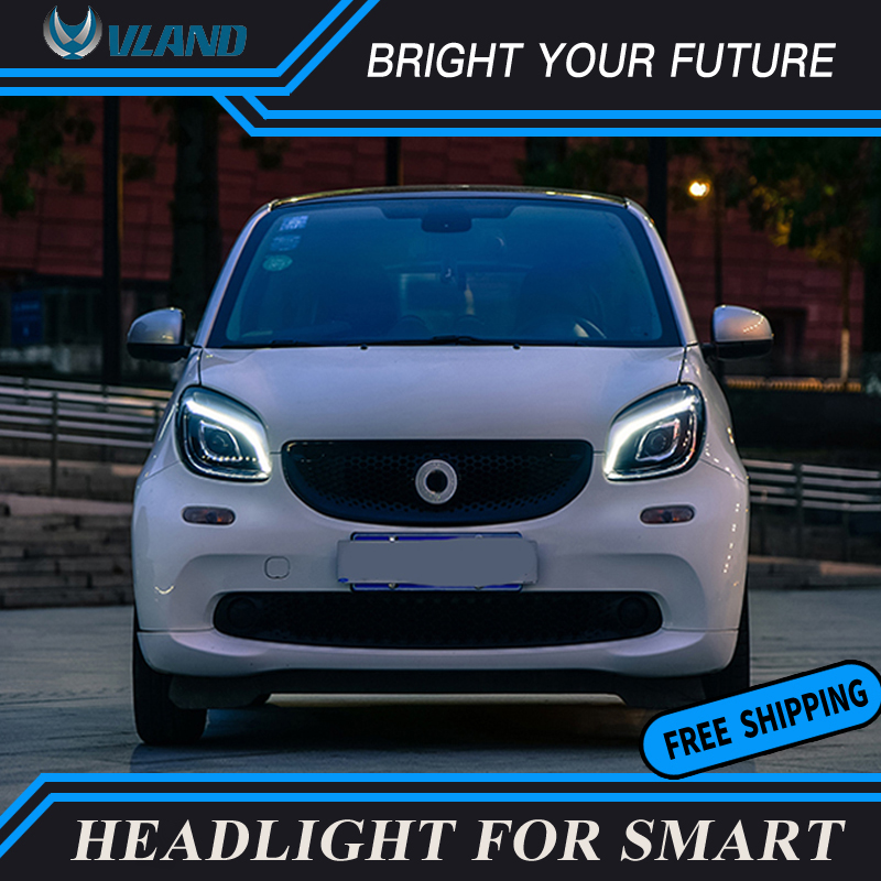 Renault Modus Blue 4-LED Xenon Bright Side Light Beam Bulbs Pair Upgrade