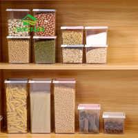 JiangChaoBo cuisine pot scellé en plastique boîte de stockage des aliments Grain séché fruits stockage pot Cookie pot réservoir de stockage