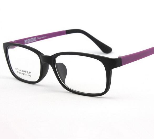 ULTEM Lightweight Myopia Eyeglasses TR90 Flexible Optical Prescription Satefy Students Eyewear  Clear lens glasses