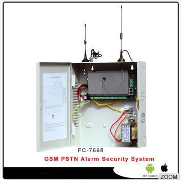 2017 Network Alarm Tcp Ip Burglar Gsm Alarm Systemreal Time Monitoring 1080p Surveillance Home