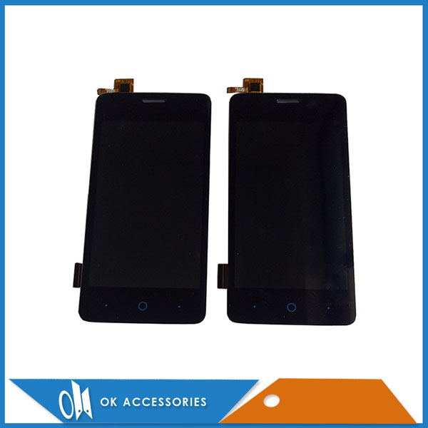 4 Inches White Black Color 100% Tested For ZTE Blade A3 T220 LCD Display+Touch Screen Digitizer Assembly 1PC/Lot
