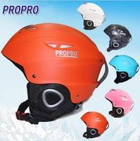 Top Quality Moon Ski Helmet Ultralight Integrally Molded Kids Safety Warm Helmet Adult Men Women Snowboard