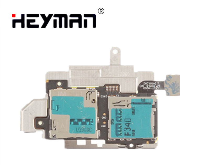 Heyman Flex Cable for Samsung Galaxy S III Galaxy S3 GT-I9300 SIM and SD Card Reader Contact Replacement