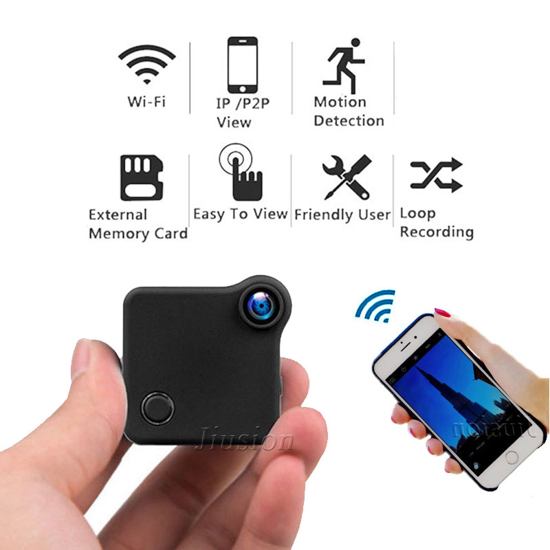 C1 Cookycam WiFi Mini Camera Magnetic Camcorder Motion Sensor P2P IP Webcam DV DVR HD 720P H.264 Video Audio Recorder Micro Cam mini dv md80 dvr video camera 720p hd dvr sport outdoors with an audio support and clip