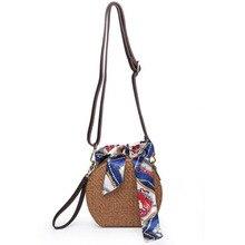 Новинка, женские сумки в богемном стиле, дизайнерские, песчаные, пляжные, ручная соломенная сумка для девочек, повседневная сумка-мессенджер в винтажном стиле, весна-лето