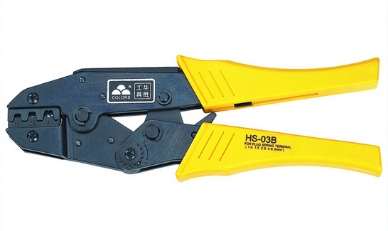 HS-03B wire stripper RATCHET crimping tool crimper plier 1.5-6mm2 multi tools