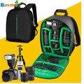 Hot-venda 3 cores 250x340x130mm presentes mochila saco da câmera à prova d' água dslr câmera mochila caso para canon para nikon para sony