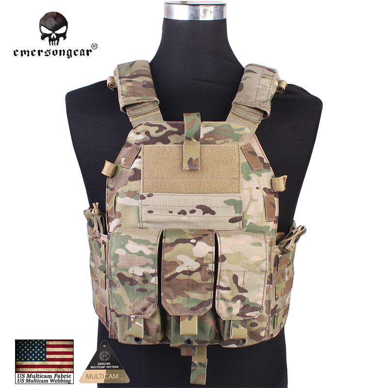 Emersongear Tactical Vest Airsoft Fight 094Okay M4 Pouch Physique Armor Emerson Gear Navy Gear 7356