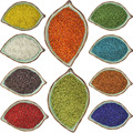Comercio al por mayor 2000 Unids 2mm Línea de Cristal Checo perlas Spacer Seed con interior plateado Joyería Que Hace Elige BRICOLAJE 10 Colores BBG02-01
