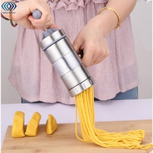 Kitchenware Pasta Noodle Maker Machine Stainless Steel Cutter For Fresh Spaghetti Kitchen Pastry Noddle Making Cooking Tools