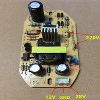 استبدال المرطب الطاقة مجلس الانحلال مجلس 12 فولت 28 فولت الانحلال لوحة دوائر كهربائية المرطب أجزاء بالموجات فوق الصوتية التفتيت|قطع غيار جهاز الترطيب|الأجهزة المنزلية -