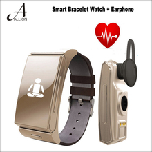 Neue Bluetooth Smart Uhr Umini Smartwatch BT Headset Schrittzähler Musik-player Bluetooth Herzfrequenz Tracker für Android IOS Telefon