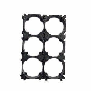 Image 1 - 50pcs/lot 3P 32650 Battery Holder Bracket 32650 Cell Spacer DIY battery pack