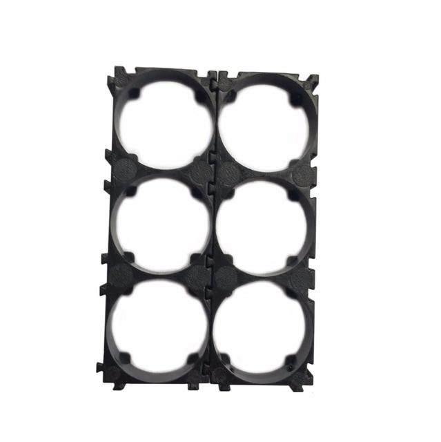 50pcs/lot 3P 32650 Battery Holder Bracket 32650 Cell Spacer DIY battery pack
