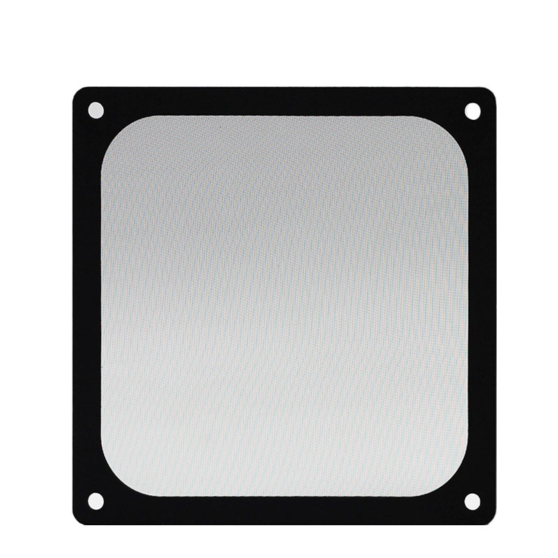 Image 2 - En Labs 12CM Magnetic Frame Black Mesh Dust Filter PC Cooler Fan Filter with Magnet , 120x120mm Dustproof Computer Case Cover-in Fans & Cooling from Computer & Office