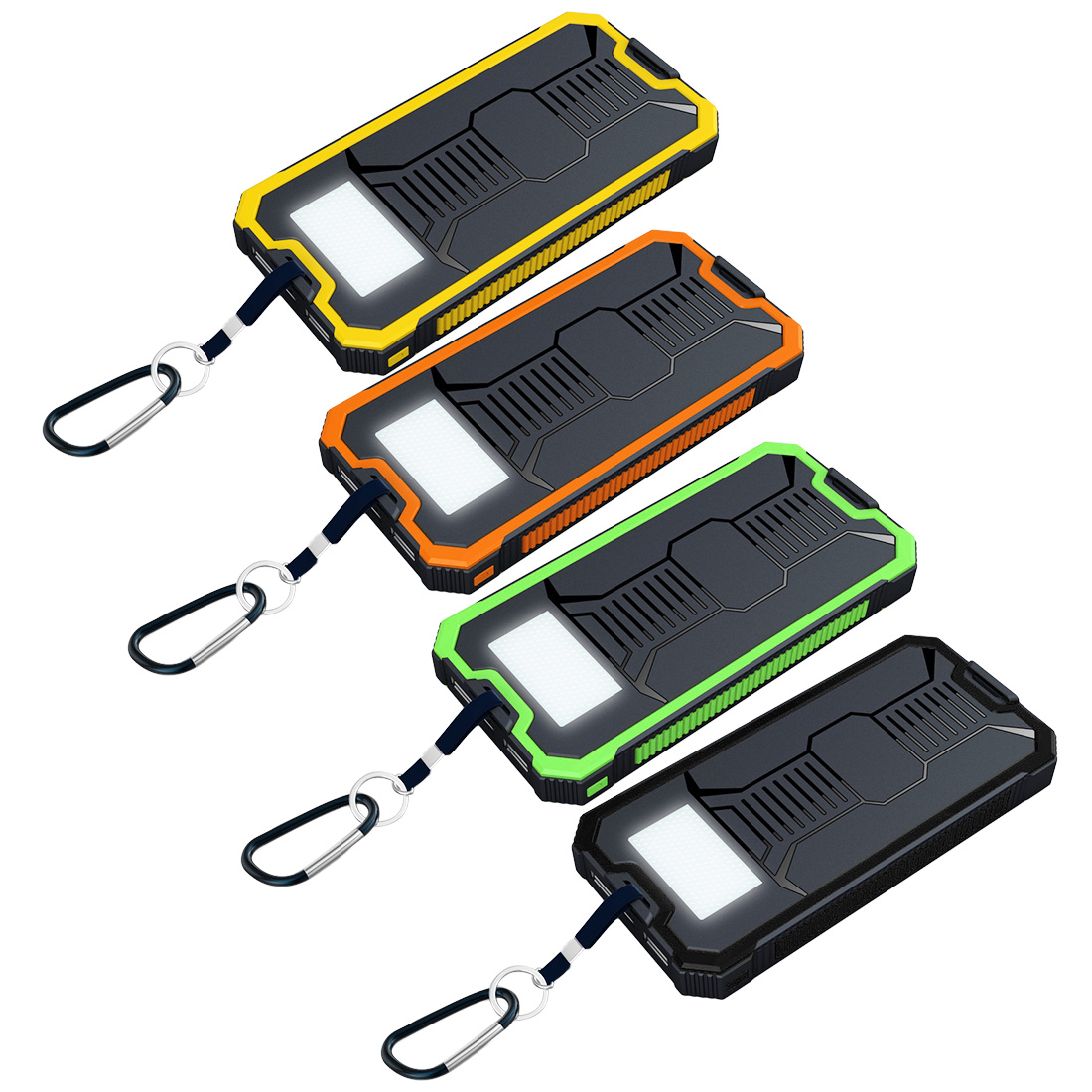 Box Dual USB 18650 Power Bank Case Portable Solar Mobile Power Supply Kit  No Battery Led Solar Panel Charger Storage