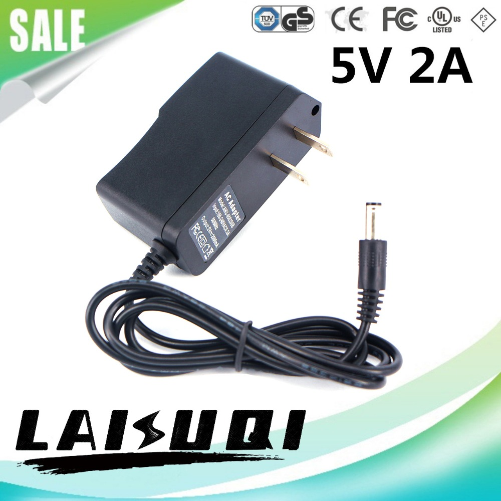 10pcs 5v 2a DC5.5x2.1mm US Plug Switching Power Adapter Supply Charger For  TV Box MXQ CS918 LAISUQI Hot Sale Special Offer-in AC/DC Adapters from Home  ...