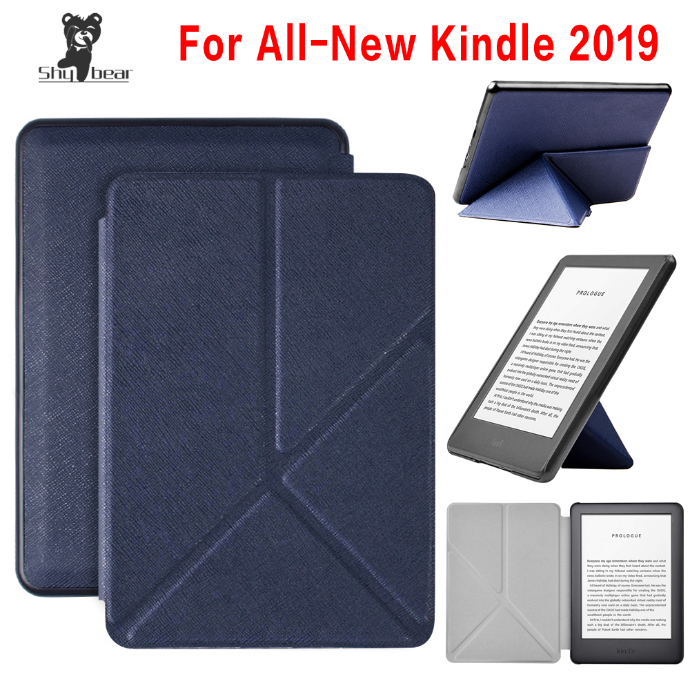 For 2019 Amazon All-New Kindle Touch 10th Generation E-reader J9G29R Transformer Case Smart Intelligent Cover + Screen Protector