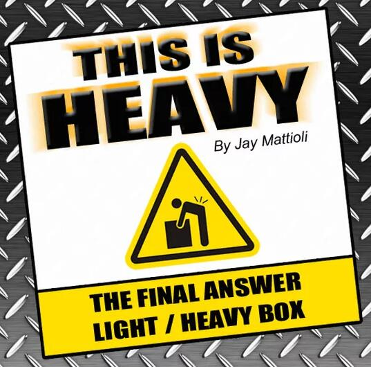 This Is Heavy by Jay Mattioli Magic tricksThis Is Heavy by Jay Mattioli Magic tricks