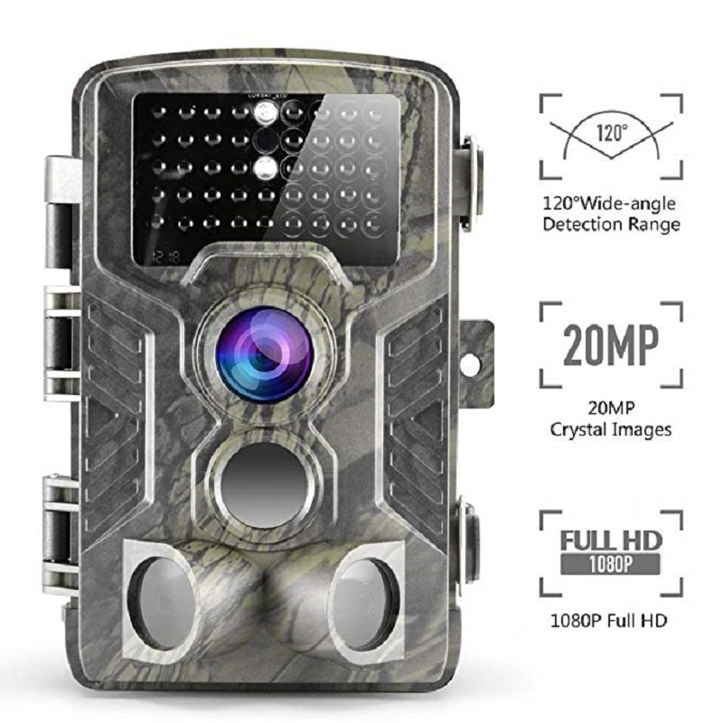 Suntekcam 20MP HC800A Photo Trap Hunting Camera IP65 Waterproof Night Vision Wild Cameras Phototrap 850nm Infrared Trail Camera