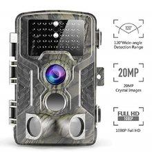 Suntekcam 20MP HC800A Fotoğraf Tuzak Avı Kamera IP65 Su Geçirmez Gece Görüş Vahşi Kameralar Phototrap 850nm Kızılötesi takip kamerası