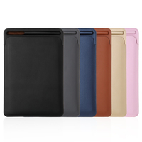 Ultra Slim Magnetic Smart Cover Leather Tablet Case To With Matte Back Cases For Apple IPad