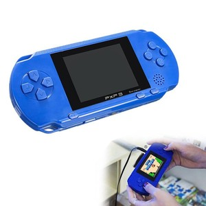 Image 4 - 3 Portable 16 Bit Retro PXP3 Slim Station Video Games Player Handheld Game Console 2pcs Game Card built in 150 Classic Games