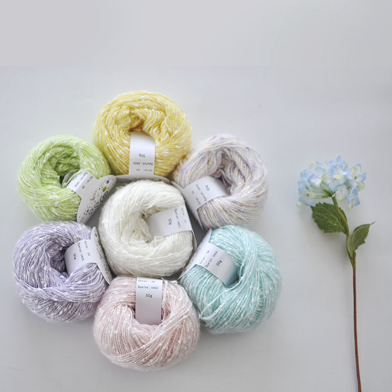 250g lot High Quality Baby Thick Yarn For Knitting Thread Hand Crochet Fancy Acrylic fibres yarn in Yarn from Home Garden