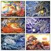 China Phoenix And Dragon Full Diamond Mosaic Embroidery 5d Square Cross Stitch Diy Diamond Painting Cross