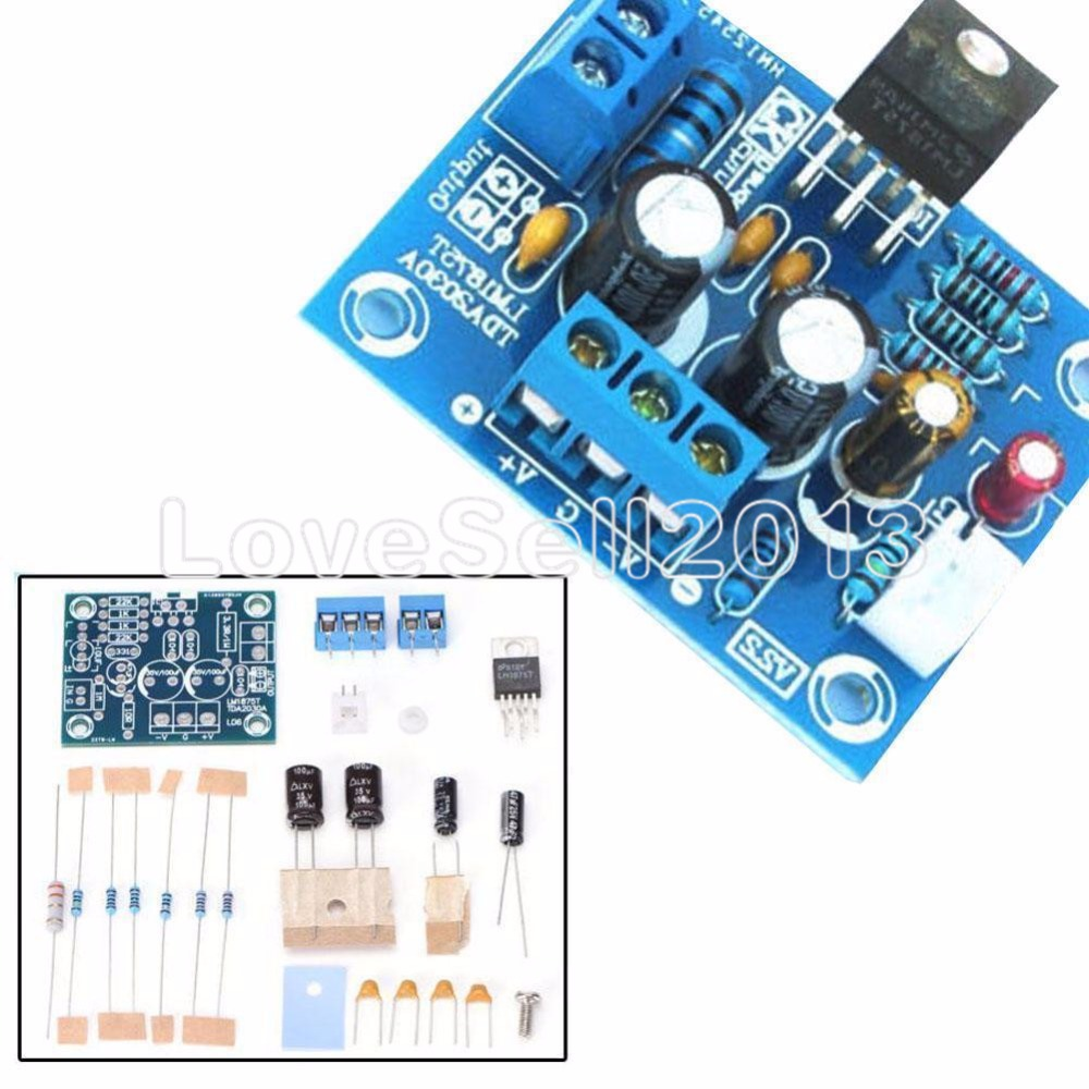 20W HIFI Mono Channel <font><b>LM1875T</b></font> <font><b>Stereo</b></font> <font><b>Audio</b></font> <font><b>Amplifier</b></font> Board Module <font><b>DIY</b></font> <font><b>Kit</b></font> image